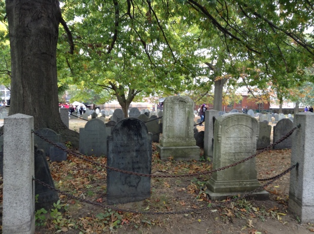 The cemetery includes many locals from the 17th and 18th century whom have passed beyond the Salem witch trials as well.