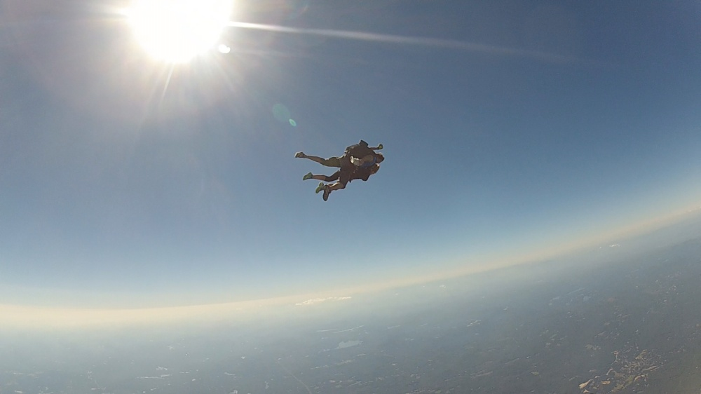 Nothing more surreal than free fallin'